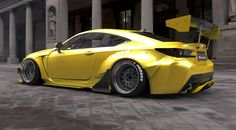 RocketBunny Lexus RC Wide Body Revealed Further - MotorwardMotorward