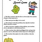 This is a board game that students travel through the seas dividing decimals until they find the hidden treasure at the end of the game. This is a ...