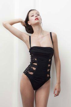 7c41ee098c Jean Paul Gaultier for La Perla swimsuit Bikini Inspiration
