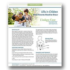 UTIs in Children - Urology Care Foundation Urinary Tract Infection, Facts For Kids, Free Education, Health Problems, Pediatrics, Health Care, Foundation, How To Get, Children