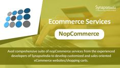 SynapseIndia is a leading nopCommerce development company in India offers nopCommerce design, module development, customization and more. Ecommerce Solutions, Website, Watch, Youtube, Design, Clock, Bracelet Watch, Design Comics, Youtubers
