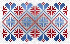 A nemzeti motívumok, ingyenes cross öltésmintákat és diagramok - www.free-cross-stitch.rucniprace.cz
