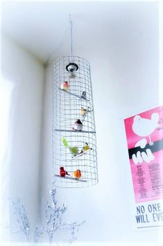 tall & skinny birdcage chandelier light by meggancolleen on Etsy