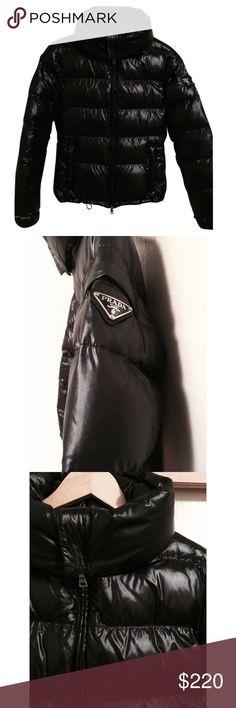 Prada Puffer Jacket Worn but in mint condition Prada Jackets & Coats Puffers