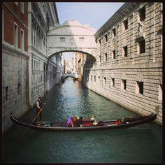 Ponte dei Sospiri in Venezia, Veneto
