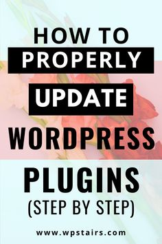 A simple 3 step tutorial for you on how to update WordPress plugins Wordpress Plugins, Wordpress Free, Free Ecommerce, Wordpress Website Design, Social Icons, Online Marketing, Business, Contact Form