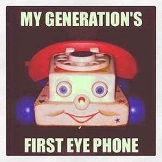 SydesJokes: My Generation's First Eye Phone