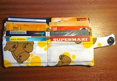 Billetera sencilla Fabric Wallet DIY