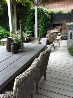 Tanzania side chairs, driftwood ------------------ Outdoor Living www.OutdoorLivingHawaii.com