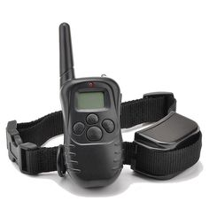 Ranphy 300 Yard 100lv Level Electric Shock Vibra Remote LCD Pet Dog Training Collar