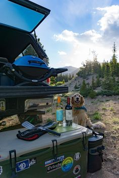 Four tips for car camping in comfort – Campsite with a view, Air mattress for a good night sleep, Line 39 wine and cheese for happy hour and a Weber®️️ Grill for cooking dinner AD Msg 4 21+