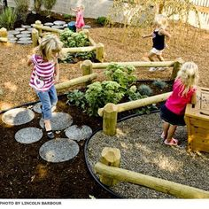 Love some of these ideas - esp. the various logs and the bird nests.