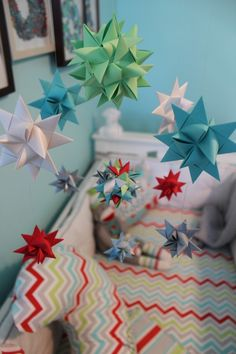 Star mobile for the nursery