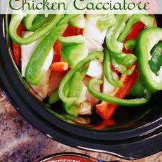 Slow Cooker Chicken Cacciatore Recipe - ZipList