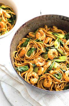 Low FODMAP Recipe and Gluten Free Recipe - Shrimp & pak choi stir-fry http://www.ibs-health.com/low_fodmap_shrimp_pak_choi_stir_fry.html