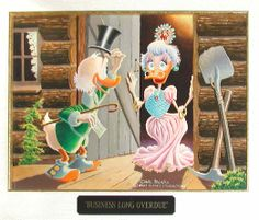 Uncle Scrooge - Business Long Overdue by Carl Barks