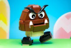 Goomba Lego Mario, Lego 4, Lego Batman, Cool Lego, Awesome Lego, Nintendo World, Lego Videos, Lego Games, Classic Video Games