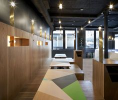 Yoobi Sushi London | Gundry & Ducker Architecture