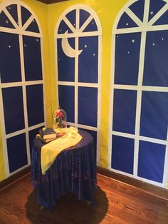 We made our living room into Belle's Ballroom! SUPER EASY, DIY PROJECT! Gotta' love Beauty and The Beast!