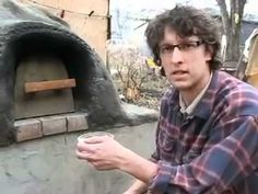 Successional Cooking in a Cob Oven;  obtain a 195* internal temp on bread to ensure it's done. Nice to know.