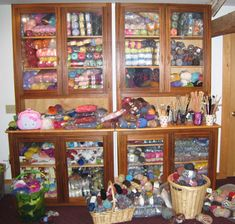 More pics of the world's largest yarn stash. Prepare to drool.