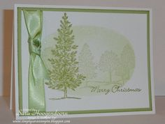 Simply Sara Stampin': Lovely as a Tree - Christmas