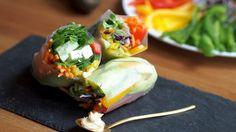 Vietnamese Spring rolls-remixed!