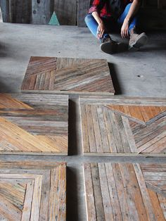 killer table tops - repurposed wood - by brooklyn to west