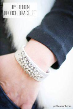 Make a Brooch Bracelet
