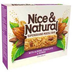 nice and natural muesli bar - Google Search