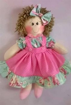 Cat Fabric, Fabric Dolls, Homemade Dolls, Knitted Dolls, Free Sewing, Art Dolls, Doll Clothes, Sewing Patterns, Crochet