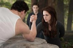 Kristen Stewart and Kellan Lutz Twilight