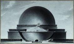 Étienne-Louis Boullée | Newton's Memorial | 1784