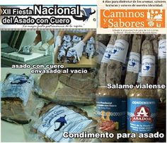 Fiesta del Asado con cuero de Viale ofrece salames y el asado con cuero envasado al vacío en Caminos y sabores, 6 al 9 de julio en La Rural, Ciudad Autónoma de Buenos Aires, Argentina