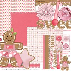 Pink Gingerbread Collection Super Mini
