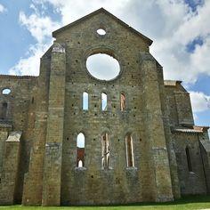 Abbazia di San Galgano  Chiusdino Siena Toscana Italy.