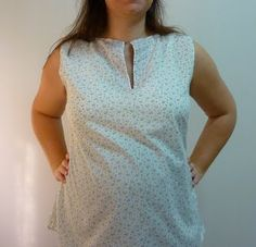 pregnant tunic. Pattern taken from book Weekend Sewing