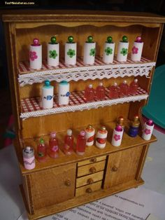 Easy jars from filters.  Forum dollhouses and miniatures :: View topic - jars easy