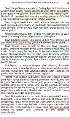 ONAR KAFLI BEŞ AYETİ KERİME-SAYFA 2-4
