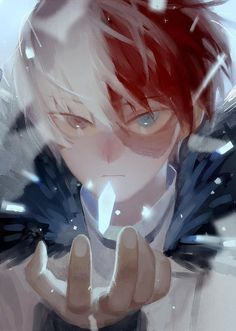 My Hero Academia - Todoroki Shouto My Hero Academia Shouto, Hero Academia Characters, Anime Characters, Ken Tokyo Ghoul, Super Anime, Satsuriku No Tenshi, Hero Wallpaper, Hot Anime Boy, Boku No Hero Academy