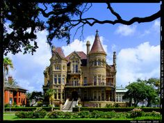 Bishop's Palace, My daddy lived here during his residency in Galveston! <3 <3 <3
