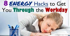 A Workplace Survey done by the American Psychological Association reported that many Americans suffer from chronic work-related stress. Here are some energy hacks to get you through your day.