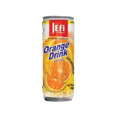 #Sinaasappel drank met #vruchtvlees #Jefi Sinaasappel drank is een populair ontbijtdrankje met lekker veel vruchtvlees. Het sap is bovendien ideaal voor de bereiding van mixdrankjes of als een verfrissende dorstlesser met fruitige verfrissende smaak. https://www.asianfoodlovers.nl/producten/drankjes/sinaasappel-drank-met-vruchtvlees-240-ml