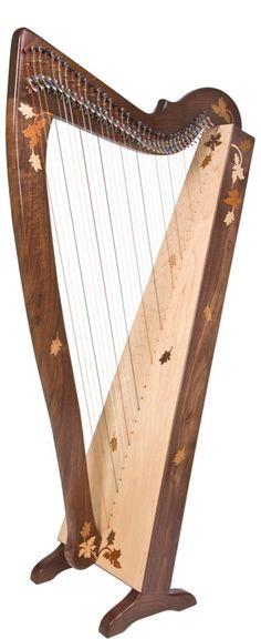William Rees Aberdeen Meadows harp