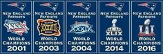 5 Superbowls!    So Far!