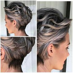 Pin by karen bester on hairstyles in 2019 short grey hair, hair, short hair cuts. Short Hair Model, Short Hair Cuts, Short Grey Haircuts, Medium Hair Styles, Curly Hair Styles, Mom Hairstyles, Great Hair, Hair Trends, Hair Lengths