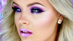 Holographic Makeup Tutorial - Brianna Fox