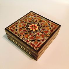 Unique Handmade New York Mother of Pearl Mosaic Inlaid by Mohavy