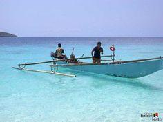 Traditional canoe of Timor Leste