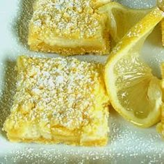Easy Lemon Bars | These lemon bars were pretty good and very easy for my kids to make.